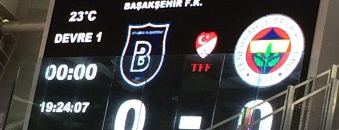 Başakşehir Fatih Terim Stadyumu is one of İstanbul Etiket Bonus Mekanları #1 💱💲💵🍀.