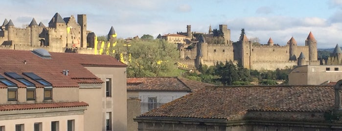 Carcassone is one of Dave : понравившиеся места.