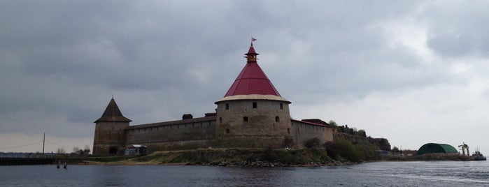 Oreshek Fortress is one of Ленобласть.