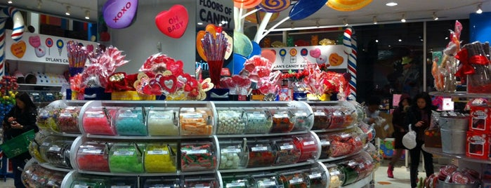 Dylan's Candy Bar is one of NYC.