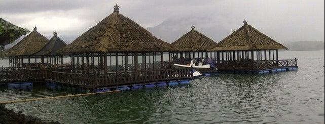 Resto Apung & Bungalow Kintamani is one of Bali Unique Eateries.