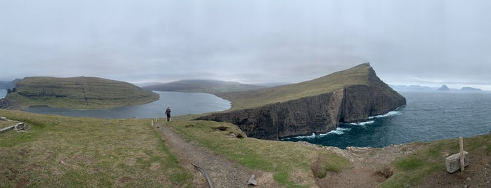 Trælanípa is one of Faroe Island.