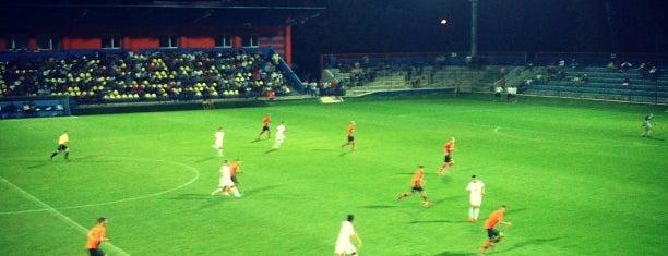 Mestský futbalový štadión is one of Prvoligové futbalové štadióny.