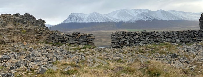 Borgarvirki is one of Iceland.