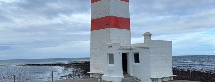 Garðskagi is one of Lugares favoritos de Richard.