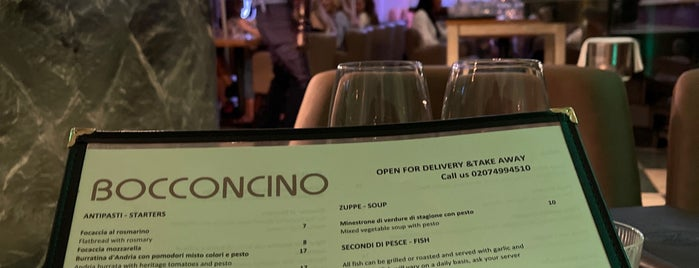 Bocconcino is one of London.