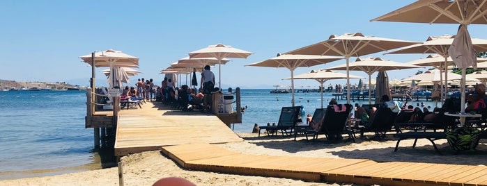 The Club Beach By Bodrum Ramada is one of Locais salvos de D.