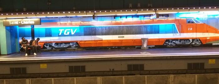 Métro Saint-Charles – Gare SNCF [M1,M2] is one of Posti che sono piaciuti a Amit.