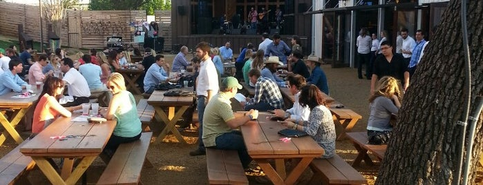 The Rustic is one of Outdoor Bars in Dallas.