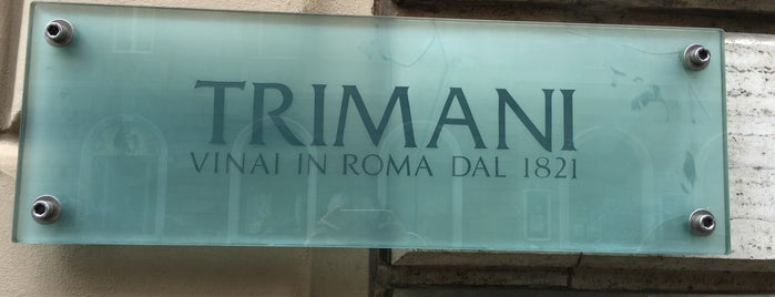 Trimani il Wine Bar is one of Roma.