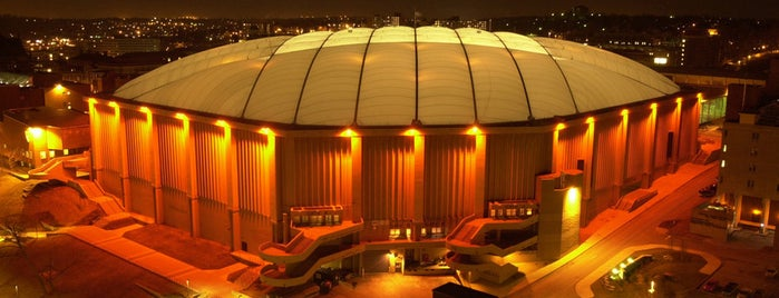 Carrier Dome is one of Places I've Been!.