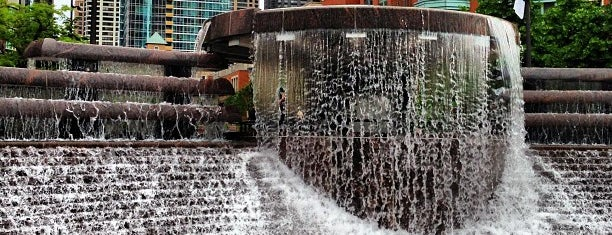 Nicholas J. Melas Centennial Fountain & Water Arc is one of Chicago Bucket List.