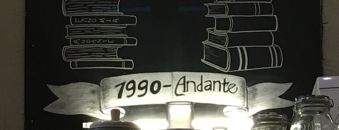 Andante is one of Lieux qui ont plu à Anastasiia.