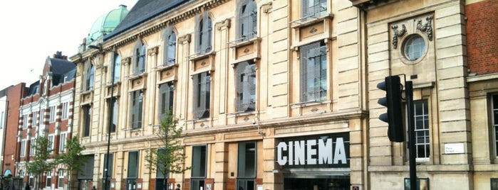 Hackney Picturehouse is one of Tempat yang Disimpan Kurt.