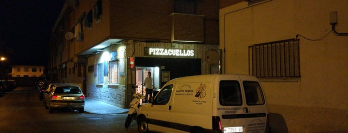 Pizzacuellos is one of Locais curtidos por Jorge.