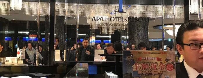 APA Hotel Asakusabashi-ekikita is one of Orte, die Fernando gefallen.