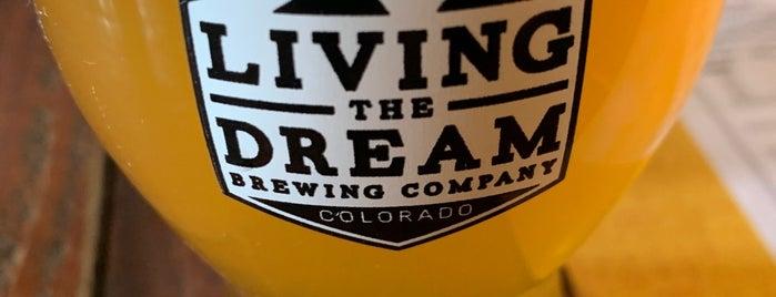 Living The Dream Brewing is one of Ⓔⓡⓘⓒ'ın Beğendiği Mekanlar.