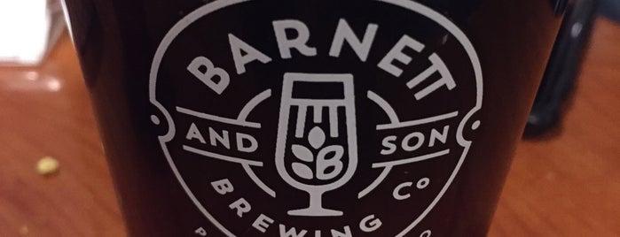 BARNETT & SON BREWING CO. is one of Orte, die Julie gefallen.