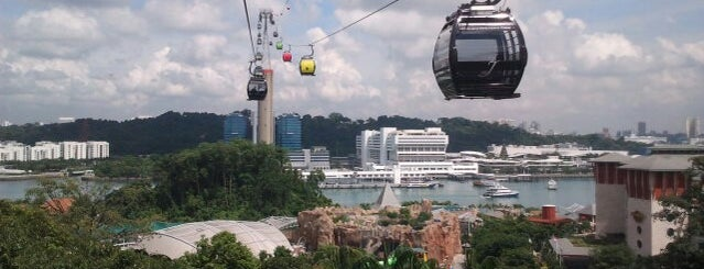 Singapore Cable Car Station is one of Singapore.
