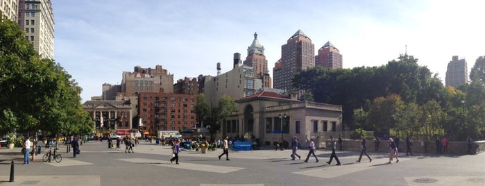 Union Square Park is one of New York TOP Places.
