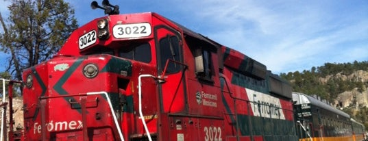 Ferrocarril Chihuahua Pacífico (Chepe) Estación Divisadero is one of Chema : понравившиеся места.