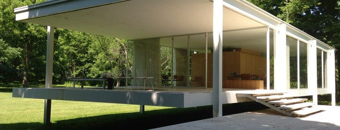 Farnsworth House is one of 建築マップ.