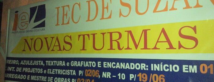 IEC Suzano is one of Orte, die Laerte gefallen.