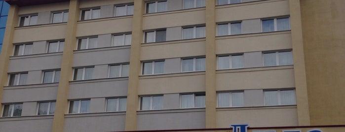 Гостиница «Лида» is one of Tempat yang Disukai Алексей.
