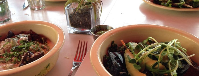 Café Gratitude is one of Best Gluten-Free Restaurants in LA.