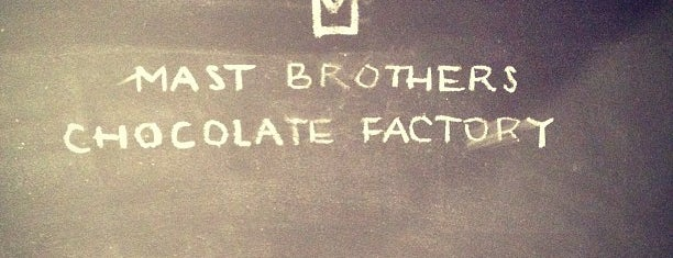 Mast Brothers Chocolate Factory is one of TODO New York City.