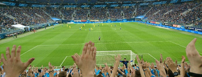 Gazprom Arena is one of Feskoさんのお気に入りスポット.