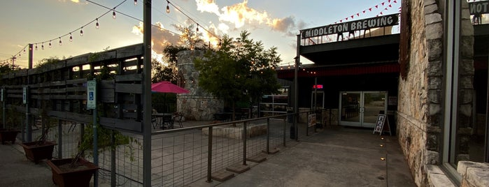 The New Middleton Brewing Company is one of Wimberly.