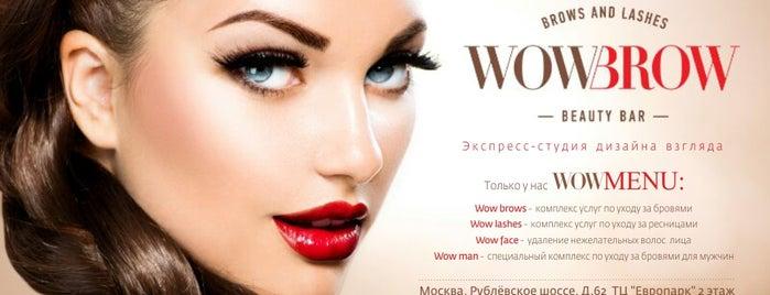 WowBrow Beauty Bar is one of Orte, die Ksenia gefallen.