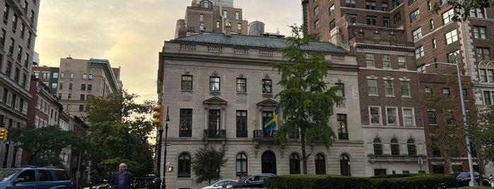 Swedish Residence is one of 🗽 New York City, NY.