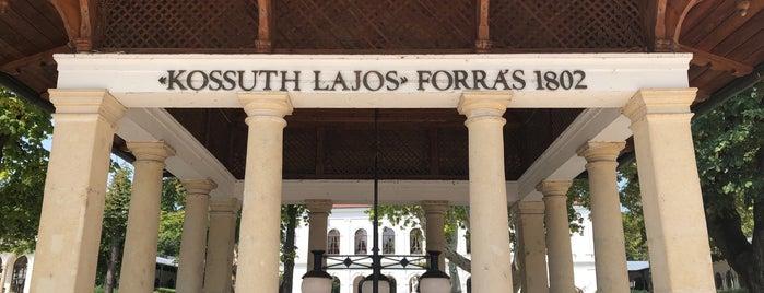 Kossuth Lajos forrás is one of Lieux qui ont plu à Attila.