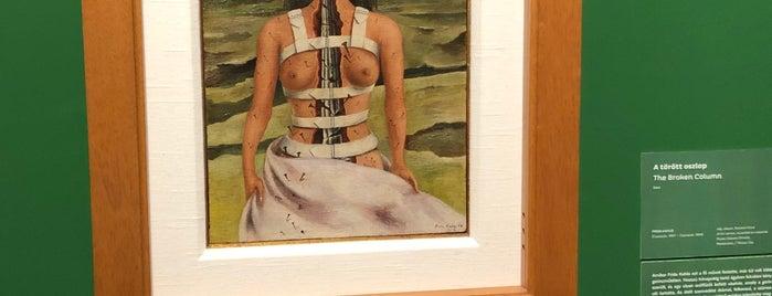 Frida Kahlo Exhibition is one of Budapest.