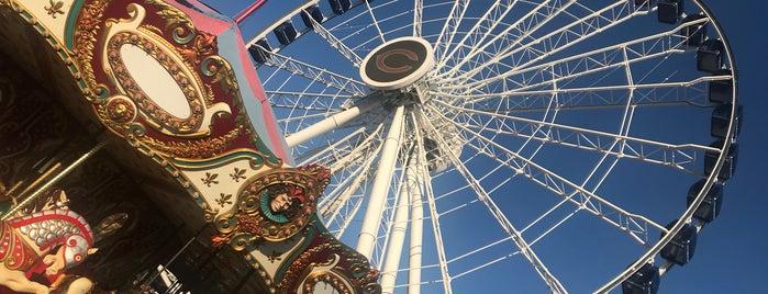 Centennial Wheel is one of Posti che sono piaciuti a Tim.