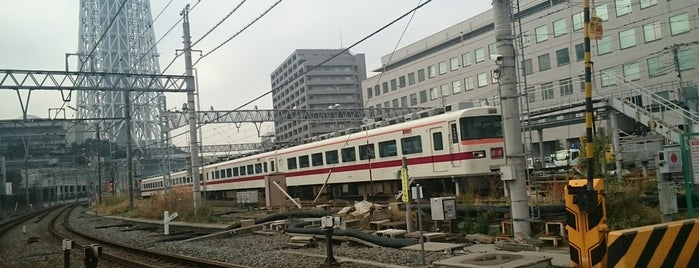Tobu Railway Co., Ltd. is one of Lieux sauvegardés par Takashi.
