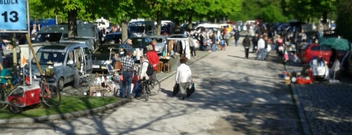 Flohmarkt Olympiapark is one of Flea markets of the world.