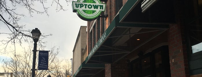 Uptown Brewing Company is one of NC Craft Breweries.