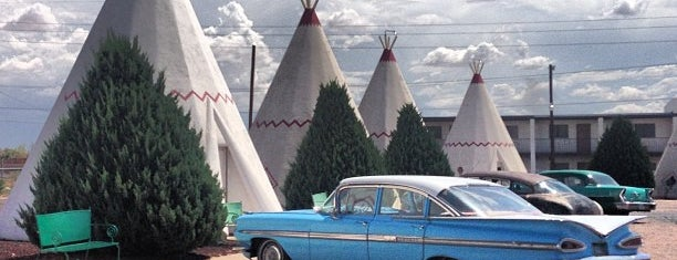 Wigwam Village Motel #6 is one of Historic Route 66.