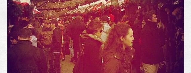 Columbus Circle Holiday Market is one of Visiting NYC?.