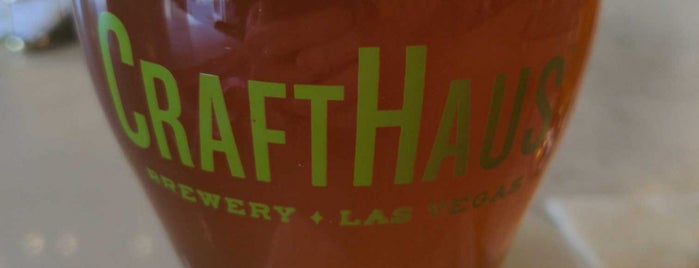 CraftHaus Brewery & Taproom is one of Las Vegas Breweries.