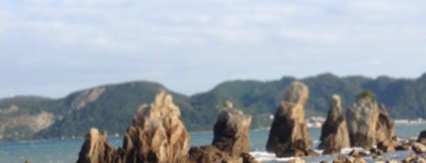 道の駅 くしもと橋抗岩 is one of Shigeo : понравившиеся места.