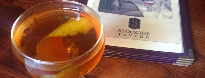 Stockade Tavern is one of A Locavore's Guide to the Hudson Valley.