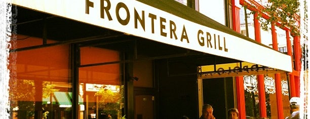 Frontera Grill is one of Chicago.