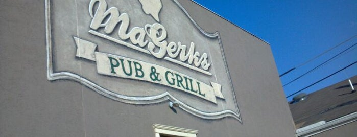 MaGerks Pub & Grill is one of Rachel : понравившиеся места.