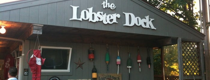 The Lobster Dock is one of Maine.