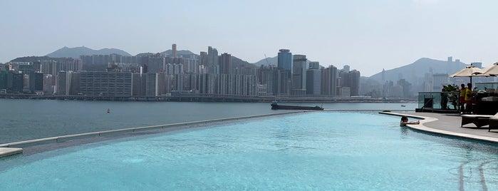 Kerry Hotel Hong Kong is one of HK rooftop pools.