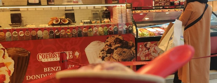 Cold Stone Creamery is one of Dondurma.
